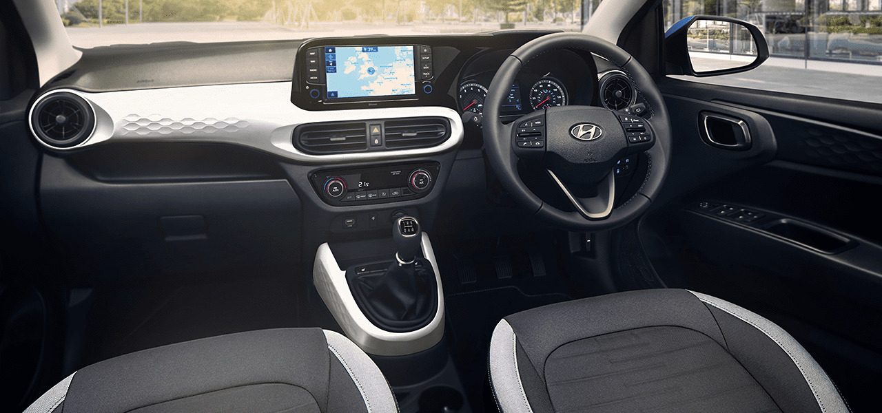 New Hyundai i10 dashboard